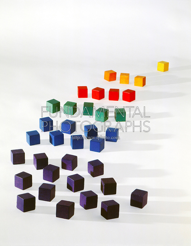 ROWS OF COLORED BLOCKS