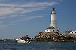 Boston Light, MA, Boston Harbor
