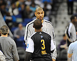 The New Orleans Hornets defeat the San Antonio Spurs, 96-72, in NBA action in the New Orleans Arena. Images within this gallery are neither for sale or available for redistribution and appear solely as a representation of my photography.