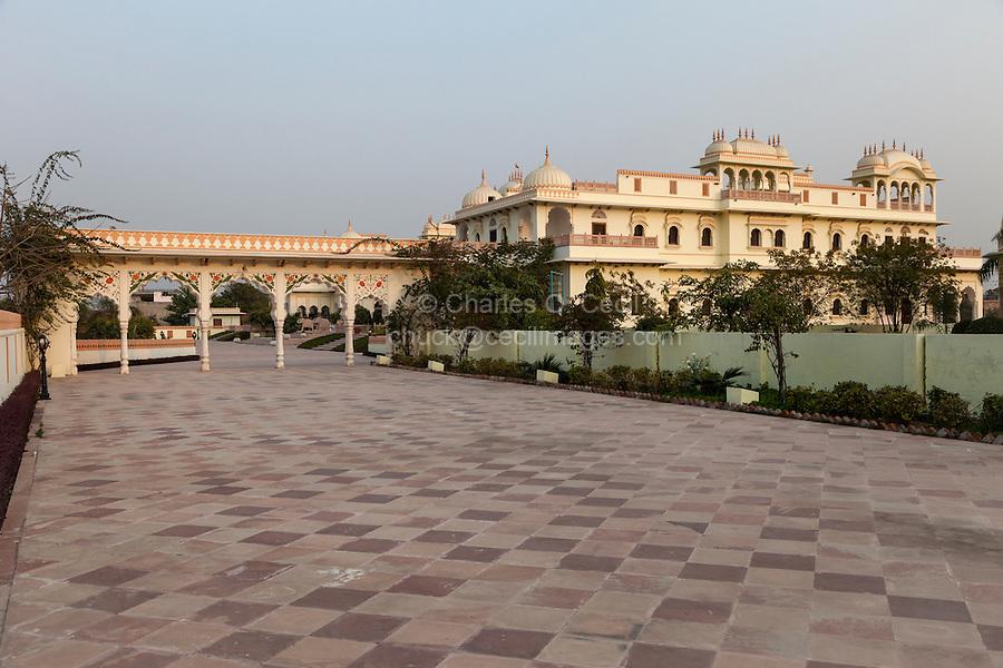 Laxmi Niwas Palace Hotel, a Modern Hotel Adjacent to the Laxmi Vilas Palace Hotel, a Heritage Hotel.