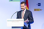 """Spanish king Felipe attends XXXIV International prizes of journalism """"Rey de Espana"""" and the XIII edition of the prize """"Don Quijote"""" of journalism in Madrid, Spain. March 27, 2017. (ALTERPHOTOS / Rodrigo Jimenez)"""