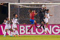 Yenith Bailey #1 of Panama makes a save