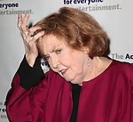Anne Meara.attending the Actors Fund Gala honoring Harry Belafonte, Jerry Stiller, Anne Meara & David Steiner at the Mariott Marquis Hotel in New York City on 5/21/12