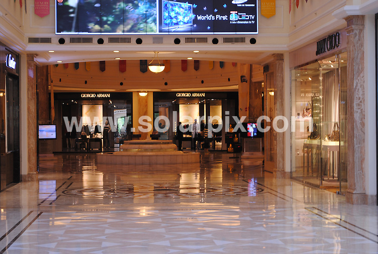 **ALL ROUND PICTURES FROM SOLARPIX.COM**                                             **WORLDWIDE SYNDICATION RIGHTS**                                                                                  Caption: The latest Forbes billionaire's list for 2011 is all about a marked shift in wealth creation from the advanced economies of US and Europe to the BRIC countries (Brazil, Russia, India and China), which showed a huge increase in their number of billionaires..Fifty-five Indians are on this list.Total wealth in India has tripled over the past decade to USD3.5 trillion and could further increase to USD6.4 trillion by 2015. India has emerged as the fastest growing luxury market, growing at 25% and is expected to maintain these rates for the next 10 years. ...Now specialized luxury Malls have started and Emporio a New Delhi based mall that houses luxury brands is doing brisk business. .                                                                              This pic: Emporio Mall, New Delhi                                                                                             JOB REF: 12949 SJA       DATE: 11_03_2011                                                            **MUST CREDIT SOLARPIX.COM OR DOUBLE FEE WILL BE CHARGED**                                                                      **MUST AGREE FEE BEFORE ONLINE USAGE**                               **CALL US ON: +34 952 811 768 or LOW RATE FROM UK 0844 617 7637**