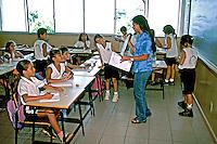 Sala de aula, Escola Estadual Monteiro Lobato. Boa Vista. Roraima. 2003. Foto de Juca Martins.