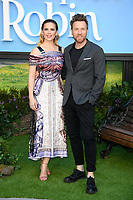 """Hayley Atwell and Ewan McGregor<br /> arriving for the """"Christopher Robin"""" premiere at the BFI Southbank, London<br /> <br /> ©Ash Knotek  D3416  05/08/2018"""