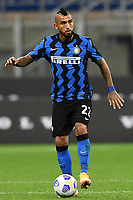 26th September 2020, San Siro Stadium, Milan, Italy; Serie A Football, Inter Milan versus Fiorentina;  Arturo Vidal