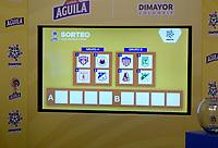 BOGOTA - COLOMBIA -05-05-2019: Sorteo de las finales de la LIga äguila I 2019 realizado en Bogotá, / Draw for the finals of the LIga Aguila I 2019 held in Bogota. Photo: VizzorImage/ Cristian Alvarez / Cont