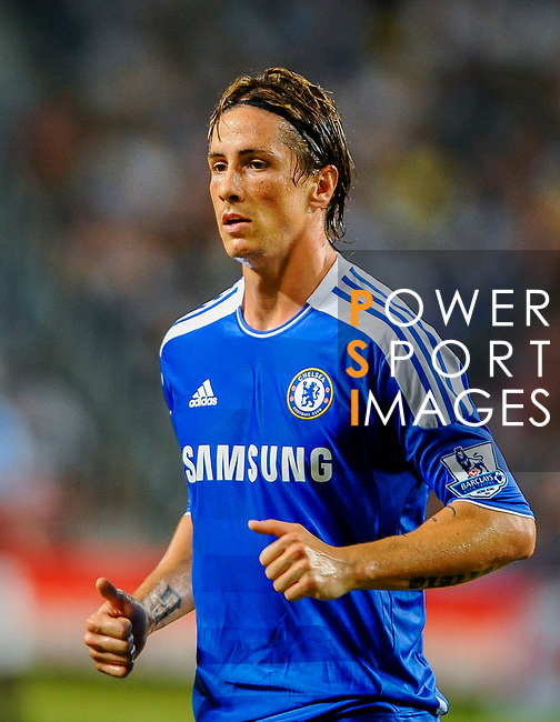 Fernando Torres of Chelsea looks on during the Asia Trophy Final match against Aston Villa at the Hong Kong Stadium on July 30, 2011 in So Kon Po, Hong Kong. Photo by Victor Fraile / The Power of Sport Images