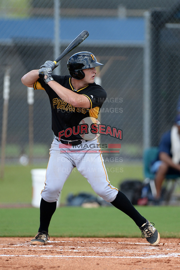 Pittsburgh Pirates outfielder Jerrick Suiter (24) during an Instructional League game against the Tampa Bay Rays on September 27, 2014 at the Charlotte Sports Park in Port Charlotte, Florida.  (Mike Janes/Four Seam Images)