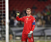 11 10 2016 Football World Cup Qualification Europe 3 Matchday Group C Germany Northern Ireland in the HDI Arena Hannover Goalkeeper Manuel Neuer Germany <br /> Foto imago/MIS/Insidefoto