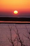 Sunrise over the Chatham Bars, Chatham, Massachusetts.