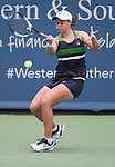 August  16, 2017:  Ashleigh Barty (AUS) defeated Venus Williams (USA) 6-3, 2-6, 6-2, at the Western & Southern Open being played at Lindner Family Tennis Center in Mason, Ohio. ©Leslie Billman/Tennisclix/CSM