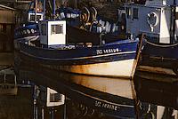 Europe/France/Bretagne/56/Morbihan/Belle-île/Le Palais: Bateau de pêche sur le port