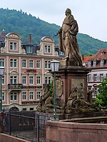 Alte Brücke, Heidelberg, Baden-Württemberg, Deutschland, Europa<br /> Old Bridge, Heidelberg, Baden-Wuerttemberg, Germany, Europe