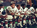 Chicago Bears Dick Butkus (51) during a game  from his 1970 season. Denver Broncos beat the New York Jets  40-28. Dick Butkus played 9 years, all for the Chicago Bears. He was a 8-time Pro Bowler, 5-time first team Pro Bowler and was inducted to the Pro Football Hall of Fame in 1979.(SportPics)