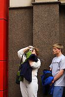Tourists; Fifth Ave. near E34th St.; 440pm, 13April2006