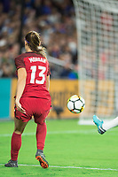 Orlando, FL - Wednesday March 07, 2018: Alex Morgan during the She Believes Final Cup Match featuring USA Women's National Team vs. Englands Women's National Team