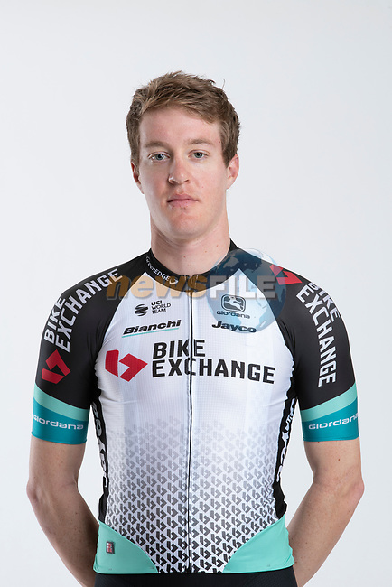 Callum Scotson (AUS) Team BikeExchange men's squad potrait, Spain. 22nd January 2021.<br /> Picture: Sara Cavallini/GreenEDGE Cycling | Cyclefile<br /> <br /> All photos usage must carry mandatory copyright credit (© Cyclefile | Sara Cavallini/GreenEDGE Cycling)
