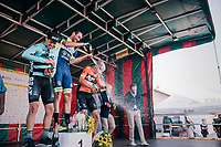 """Guillaume Van Keirsbulck (BEL/Wanty-Groupe Gobert) wins the Antwerp Port Epic 2018 (formerly """"Schaal Sels"""").<br /> Aksel Nõmmela (EST/BEAT Cycling Club) is 2nd and last years winner Taco van der Hoorn (NED/Roompot-Nederlandse Loterij) finishes 3rd.<br /> <br /> One Day Race:  Antwerp > Antwerp (207 km; of which 32km are cobbles & 30km is gravel/off-road!)"""