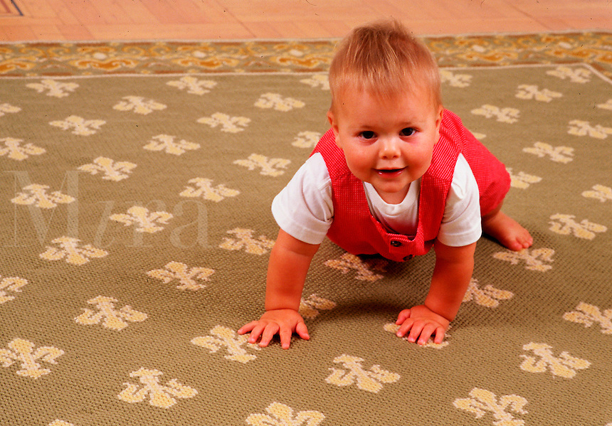 Infant at play