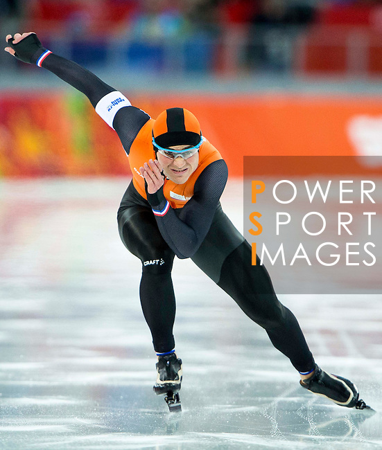 Jan Smeekens of Netherlands competes during Figure Skating Men's Short Program of the 2014 Sochi Olympic Winter Games at Iceberg Skating Palace on February 12, 2014 in Sochi, Russia. Photo by Victor Fraile / Power Sport Images