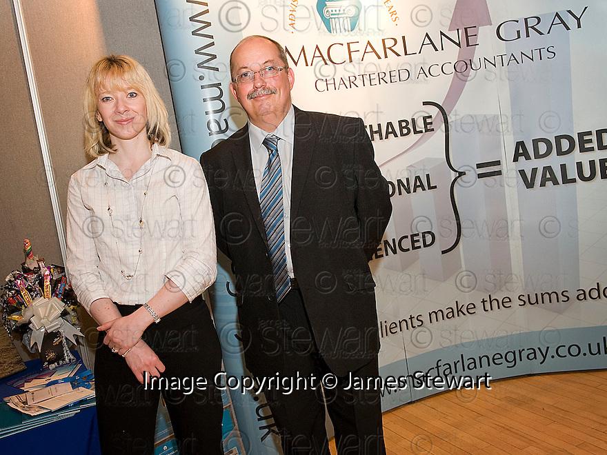 Falkirk Business Exhibition 2011<br /> Macfarlane Gray Chartered Accountants