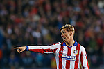 Atletico de Madrid´s Fernando Torres during the UEFA Champions League round of 16 second leg match between Atletico de Madrid and Bayer 04 Leverkusen at Vicente Calderon stadium in Madrid, Spain. March 17, 2015. (ALTERPHOTOS/Victor Blanco)