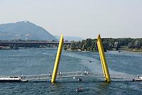 Donauinsel bei der Reichsbrücke, Wien, Österreich<br /> Danuvia Isle near Reichsbrücke, Vienna, Austria