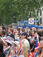Royal Subjects, Royal Wedding - London