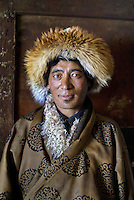 Tibetan man, Kham, Tibet, 2006
