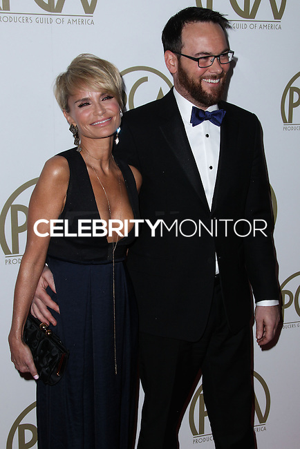 BEVERLY HILLS, CA - JANUARY 19: Kristin Chenoweth, Dana Brunetti at the 25th Annual Producers Guild Awards held at The Beverly Hilton Hotel on January 19, 2014 in Beverly Hills, California. (Photo by Xavier Collin/Celebrity Monitor)