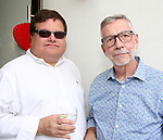 David Gersten and Sam Rudy attend the Retirement Celebration for Sam Rudy at Rosie's Theater Kids on July 17, 2019 in New York City.