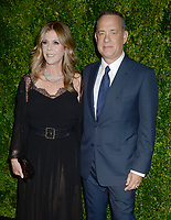 NEW YORK, NY - NOVEMBER 15: Tom Hanks, Rita Wilson  attends the MoMA Film Benefit presented by CHANEL, A Tribute To Tom Hanks at MOMA on November 15, 2016 in New York City<br /> <br /> <br /> People:  Tom Hanks, Rita Wilson