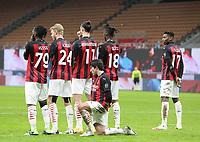 Milano  23-01-2021<br /> Stadio Giuseppe Meazza<br /> Campionato Serie A Tim 2020/21<br /> Milan - Atalanta<br /> nella foto:    Barriera                                                      <br /> Antonio Saia Kines Milano