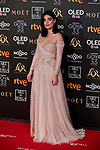 Dulceida attends to 33rd Goya Awards at Fibes - Conference and Exhibition  in Seville, Spain. February 02, 2019. (ALTERPHOTOS/A. Perez Meca)
