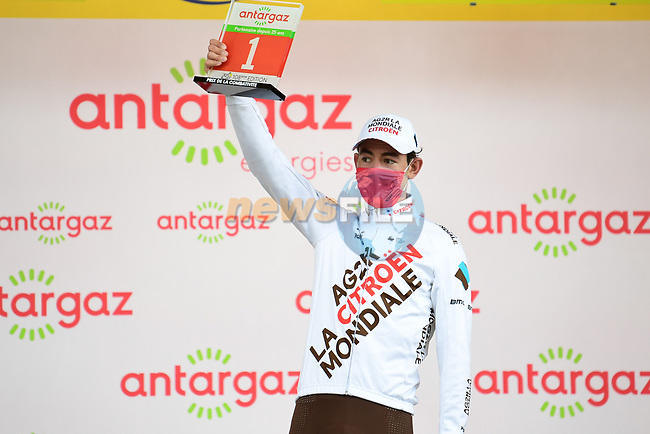 Ben O'Connor (AUS) AG2R Citroën Team wins Stage 9 and also the days combativity prize of the 2021 Tour de France, running 150.8km from Cluses to Tignes, France. 4th July 2021.  <br /> Picture: A.S.O./Pauline Ballet | Cyclefile<br /> <br /> All photos usage must carry mandatory copyright credit (© Cyclefile | A.S.O./Pauline Ballet)