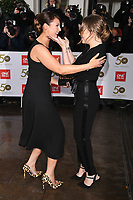 Emma Barton and Rita Simons<br /> arriving for the TRIC Awards 2019 at the Grosvenor House Hotel, London<br /> <br /> ©Ash Knotek  D3487  08/03/2019