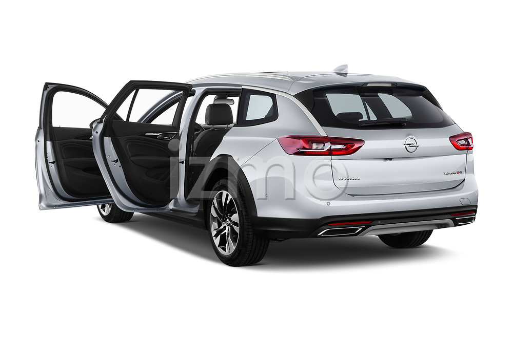 Car images close up view of a 2018 Opel Insignia Country Tourer Exclusive 5 Door Wagon doors