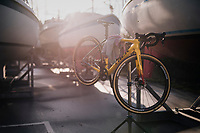 cleaned bike<br /> <br /> UCI 2019 Cyclocross World Championships<br /> Bogense / Denmark<br /> <br /> ©kramon