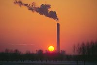 - electrothermal power station of Ostiglia....- centrale elettrotermica di Ostiglia