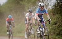 racing over the Breton gravel roads isn't without risks...<br /> <br /> 36th TRO BRO LEON 2019 (FRA)<br /> One day race from Plouguerneau to Lannilis (205km)<br /> <br /> ©kramon