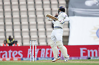 Shubman Gill, India is hit by a short delivery from Kyle Jamieson, New Zealand during India vs New Zealand, ICC World Test Championship Final Cricket at The Hampshire Bowl on 19th June 2021