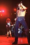 AC/DC  with Bon Scott 1976.© Chris Walter.