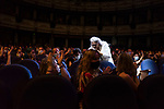 Public applause to Kiti Manver during Malaga Film Festival Gala at Teatro Cervantes.August 24 2020. (Alterphotos/Francis González)