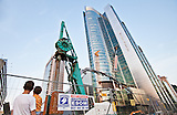 Bauboom in Warschau / Building boom in Warsaw