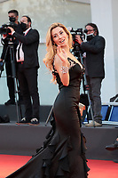 """VENICE, ITALY - SEPTEMBER 10: Antonella Salvucci walks the red carpet ahead of the movie """"Nuevo Orden"""" (New Order) at the 77th Venice Film Festival on September 10, 2020 in Venice, Italy. <br /> CAP/MPI/AF<br /> ©AF/MPI/Capital Pictures"""