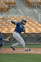 Seattle Mariners first baseman Nick Zammarelli (13) during a Minor League Spring Training game against the Los Angeles Dodgers at Camelback Ranch on March 28, 2018 in Glendale, Arizona. (Zachary Lucy/Four Seam Images)
