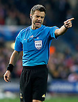 Referee Nicola Rizzoli during Champions League 2014/2015 match.March 16,2015. (ALTERPHOTOS/Acero)