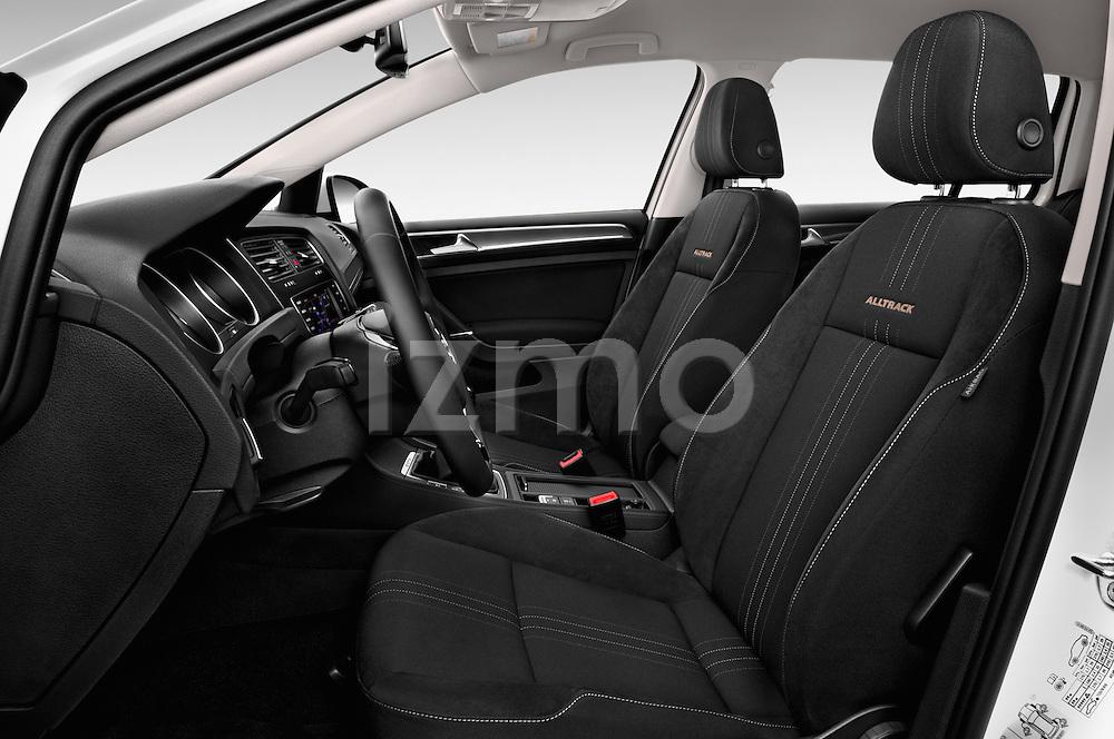 Front seat view of 2015 Volkswagen Golf Alltrack 5 Door Wagon Front Seat  car photos